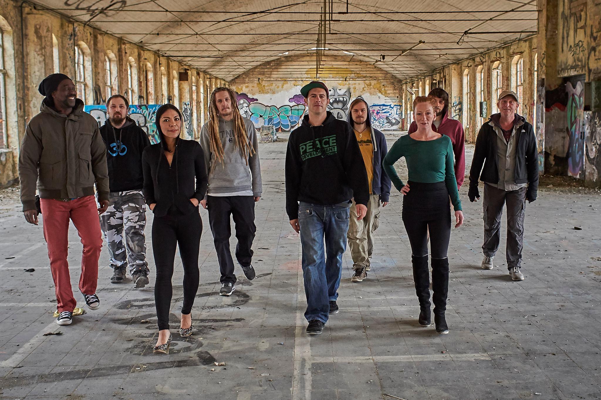 Peace Development Crew zur Interkulturellen Woche in der Zora Halberstadt