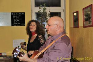 Michael Friedman & Mea spielen in der Kulturwirtschaft papermoon in Halberstadt