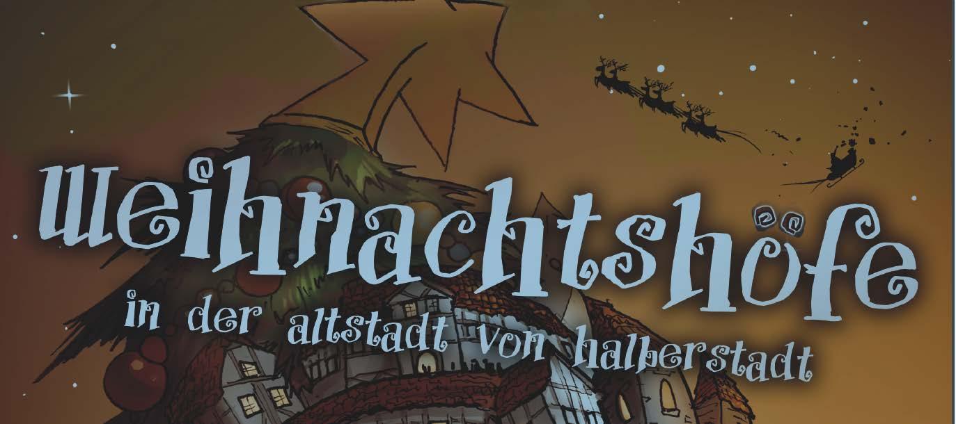 Weihnachtshöfe in der Altstadt von Halberstadt