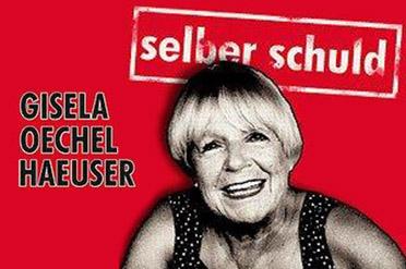"""Gisela Oechelhaeuser kommt mit ihrem aktuellen Programm """"Selber schuld"""" auf Einladung der Kulturmanufaktur nach Halberstadt in die Kulturwirtschaft papermoon"""