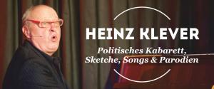 Der Kabarettist Heinz Klever spielt auf Einladung der Kulturmanufaktur Halberstadt e.V. im papermoon