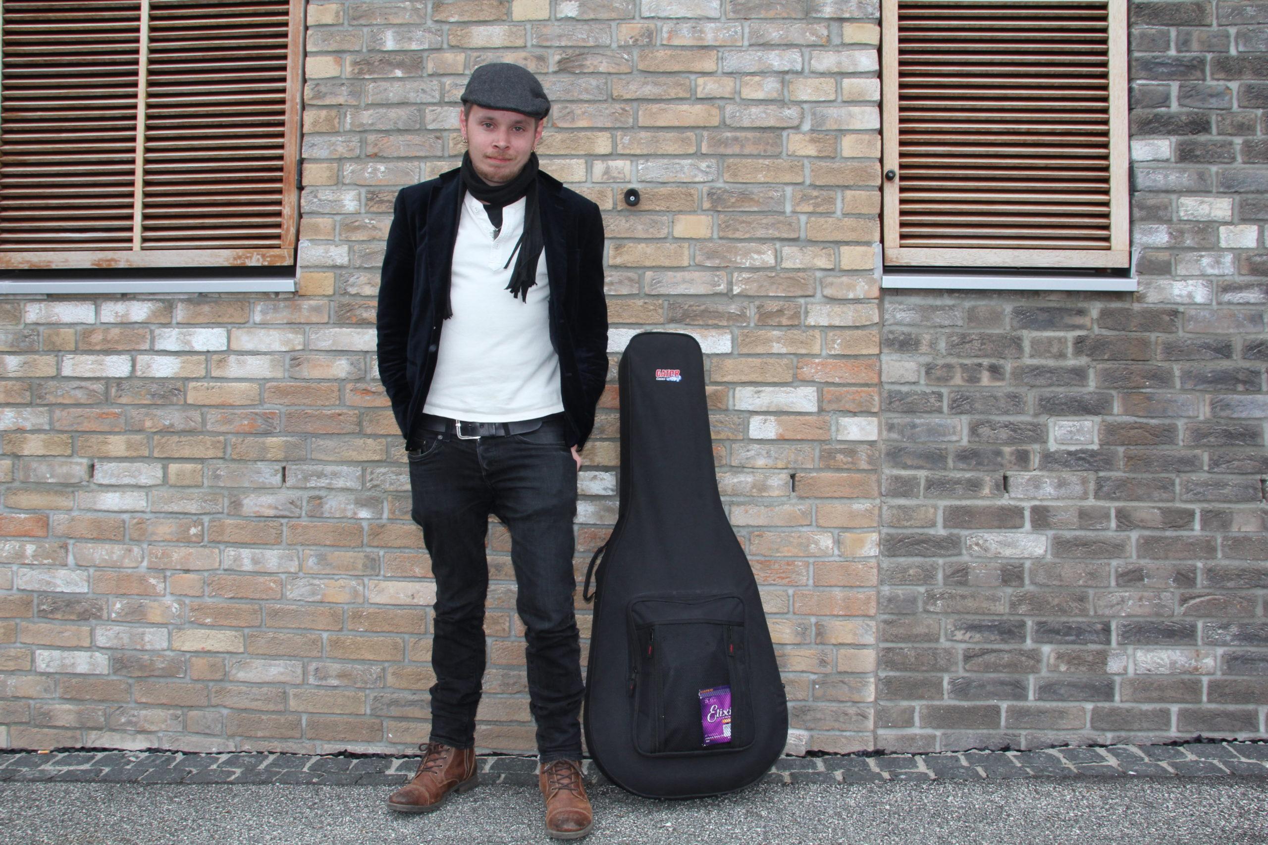 Der norwegische Musiker Depui kommt auf Einladung der Kulturmanufaktur Halberstadt e.V. ins papermoon